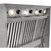 Load image into Gallery viewer, Blaze 42-Inch Stainless Steel Outdoor Vent Hood