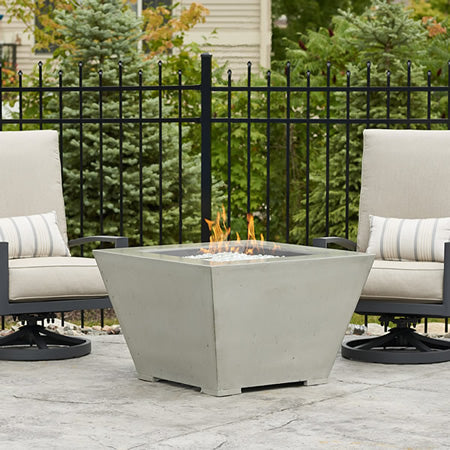 Outdoor Greatroom Cove Square Fire Bowl