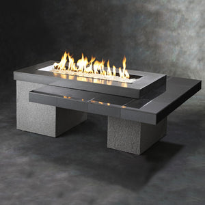 Outdoor Greatroom Uptown Linear Gas Fire Pit Table