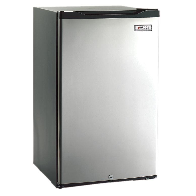 American Outdoor Grill 20-Inch 4.2 Cu Ft. Compact Refrigerator With Recessed Handle