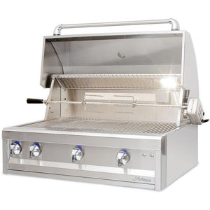 "Artisan Professional 32"" 3-Burner Built-In Natural Gas Grill With Rotisserie"
