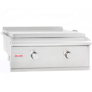 Blaze 30-Inch Built-in Gas Griddle with Lights