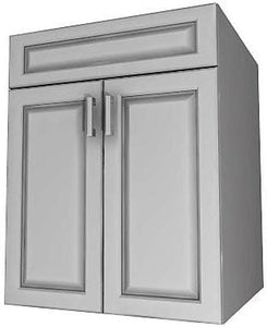 "SINK CABINET 2-DOORS (21"" to 48"" wide)"