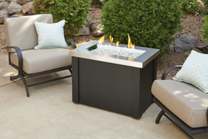 Outdoor Greatroom Providence Stainless Steel Fire Pit