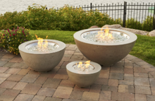 "Load image into Gallery viewer, Outdoor Greatroom Cove Fire Bowl 12"" 20"" 30"""