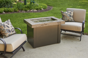 Outdoor Great Rooms  Providence Marbelized Fire Pit
