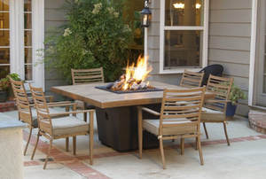 American Fyre Designs French Barrel Oak Firetable