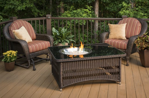 Outdoor Greatroom Naples Fire Pit Coffee Table