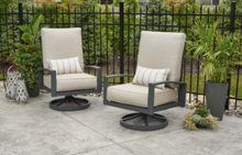 Load image into Gallery viewer, Outdoor Greatroom Lyndale Highback Swivel Rocking Chairs