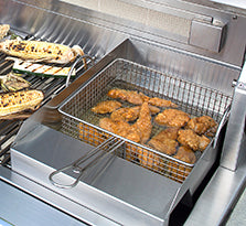 Alfresco Steamer & Fryer Gas Grill Accessory