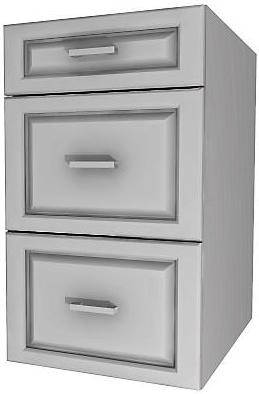 THREE DRAWER CABINET (12