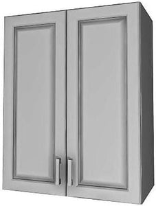 "WALL CABINET 2-DOORS (21"" to 27"" wide)"