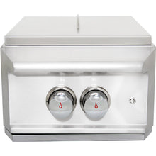 Load image into Gallery viewer, Blaze Professional Built-In High Performance Power Burner W/ Wok Ring & Stainless Steel Lid