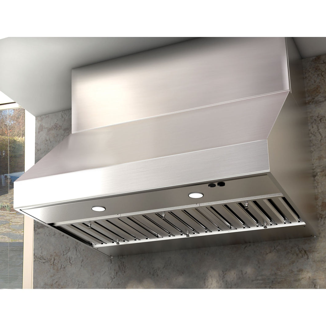 ZEPHYR - CYPRESS OUTDOOR CANOPY HOOD - STAINLESS