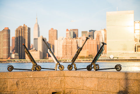 Hornet Electric Scooter by New York City Skyline