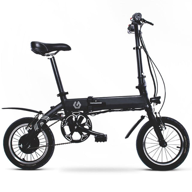 Commuter Electric Bicycle - Black