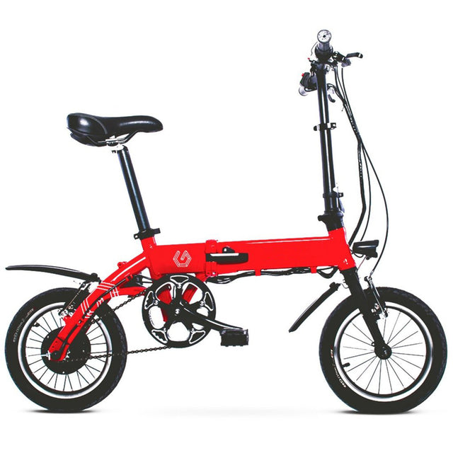 Commuter Electric Bicycle - Red