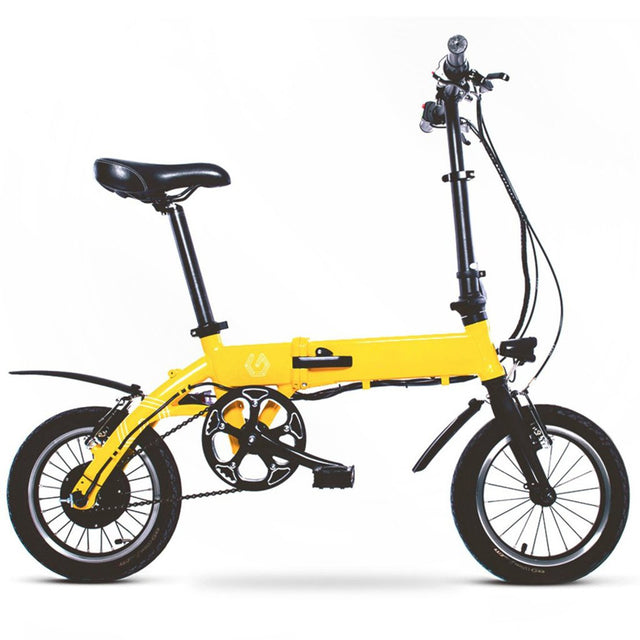 Commuter Electric Bicycle - Yellow