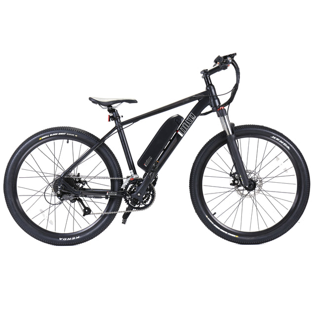 Off-Road Semi Fat Tire Electric Bike - Nero