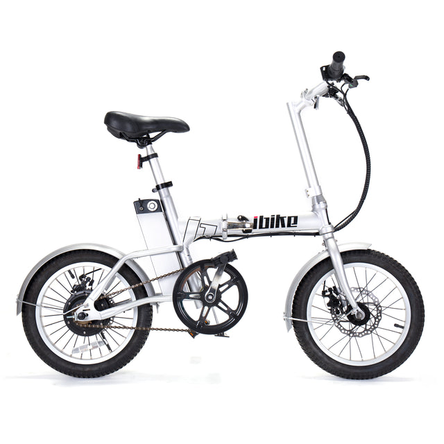 Metro Light Folding e-Bike - Silver