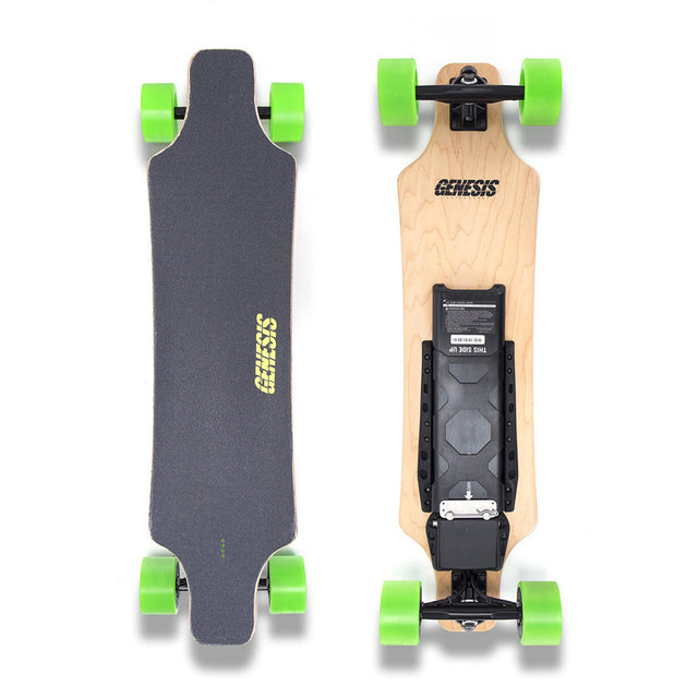 Hellfire Electric Skateboard - Green