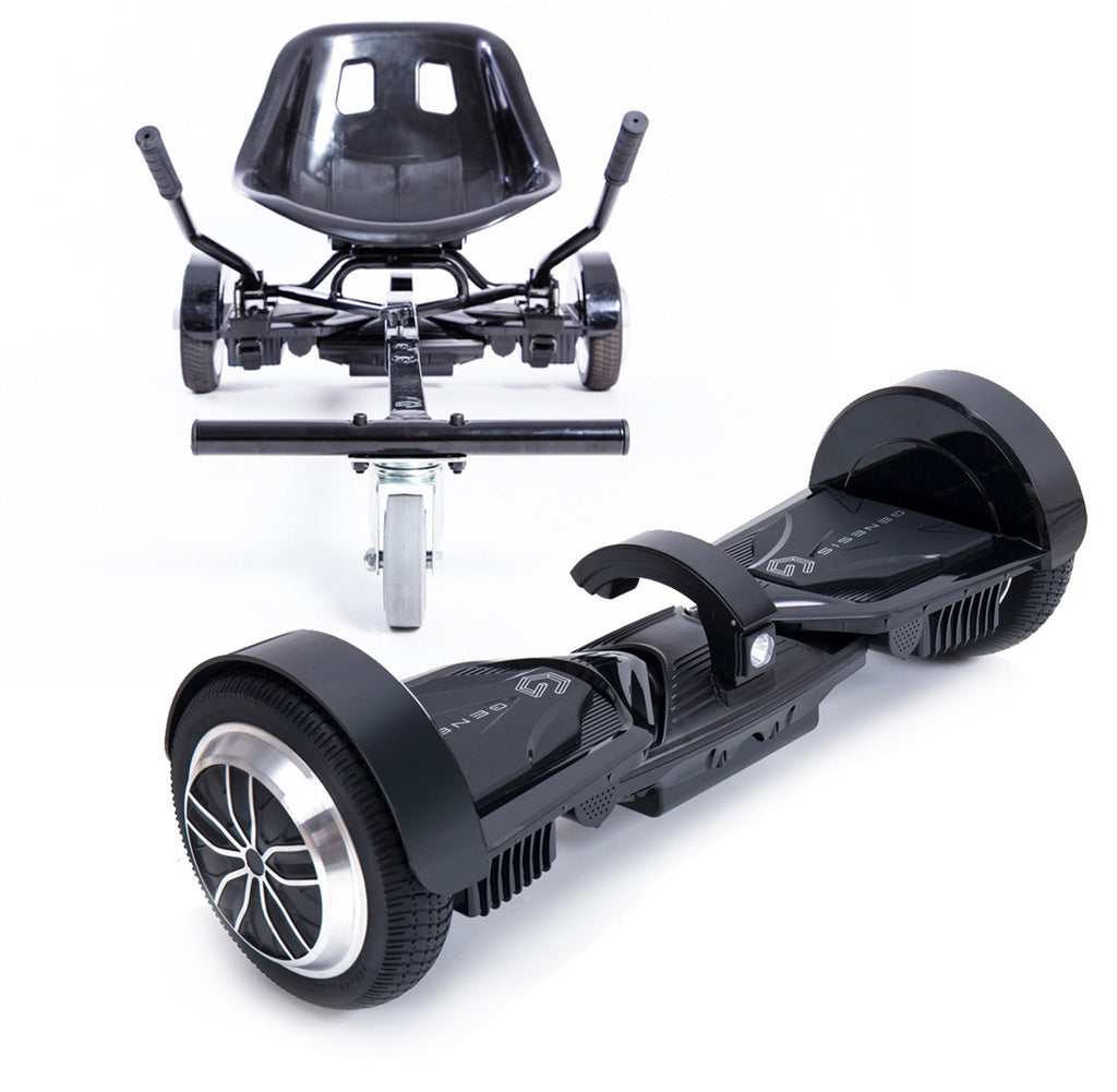 Gemini Hoverboard - Black with Genesis Rover Combo Package