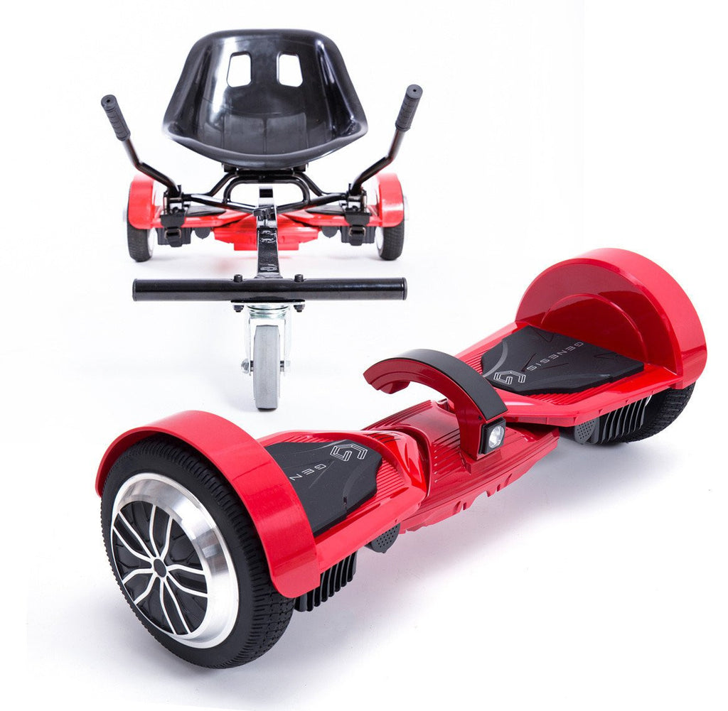 Gemini Hoverboard - Red with Genesis Rover Combo Package