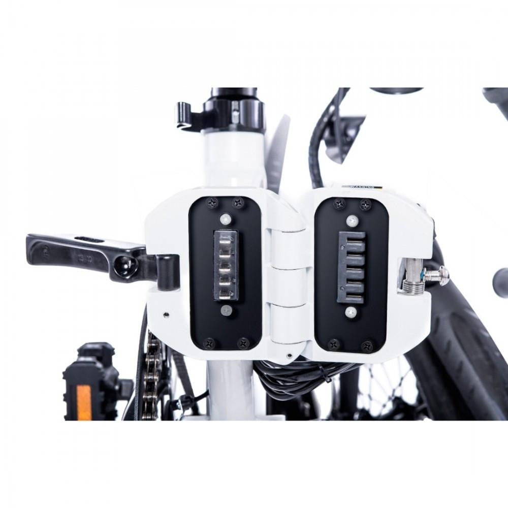 Commuter Electric Bicycle - White - Genesis - 11