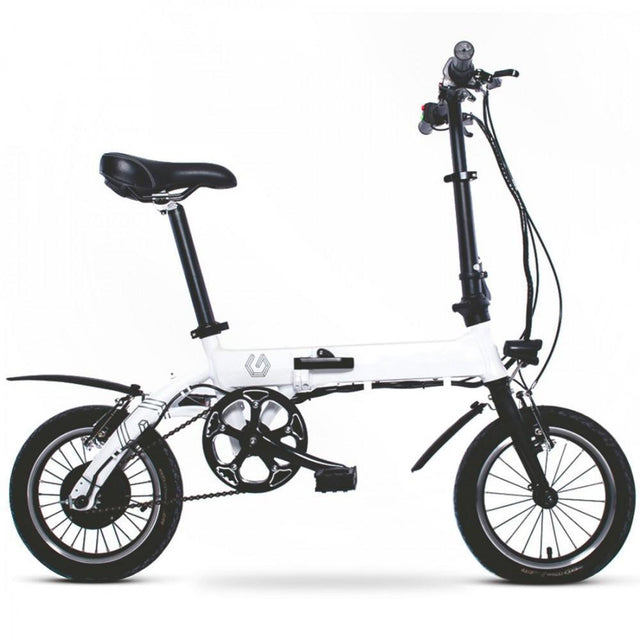 Commuter Electric Bicycle - White