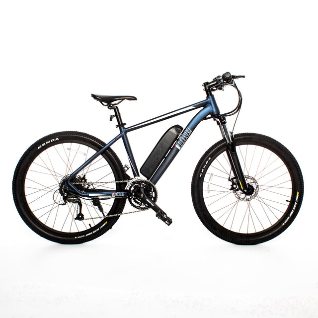 Off-Road Semi Fat Tire Electric Bike - Midnight Blue