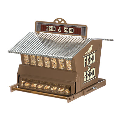 Rustic Farmhouse Absolute Feed & Seed Squirrel-Resistant Feeder