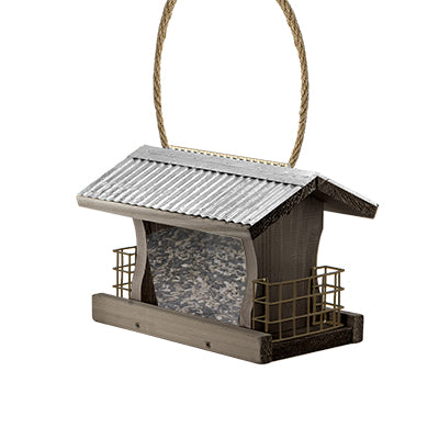 Rustic Farmhouse Ranch Feeder with Suet Cages