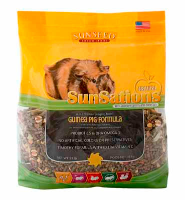 Sunseed Vitakraft® SunSations® Guinea Pig Diet