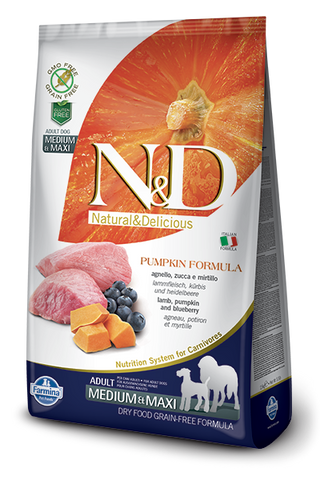 N&D Lamb & Blueberry | Adult Medium & Maxi