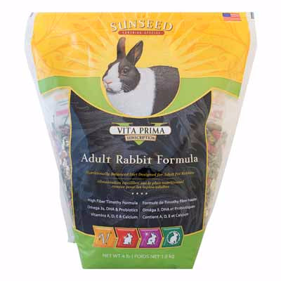 Sunseed Vitakraft® Vita Prima Timothy Rabbit Formula