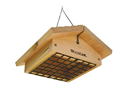 Cedar Bottom Suet Feeder