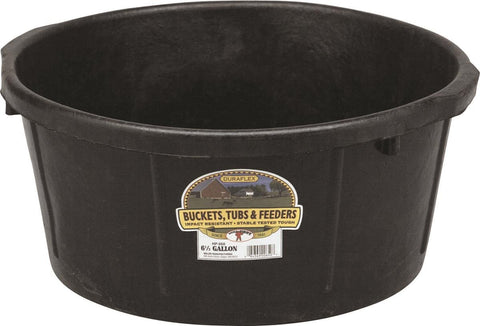 Rubber Feed Tub - 6.5 Gallon