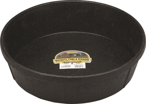Rubber Feed Tub - 3 Gallon