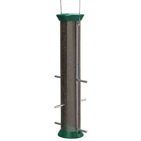 New Generation 15″ Forest Green Nyjer Seed Feeder (CJTHM15G)