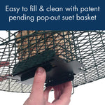 Squirrel Resistant Double Suet Cage