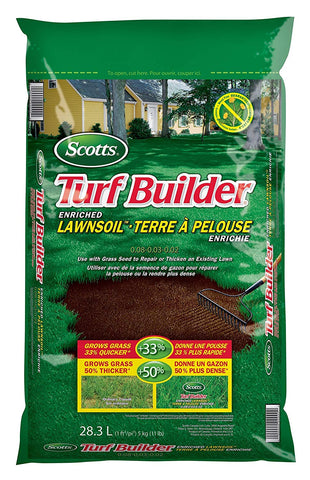 Scotts Turf Builder Enriched Lawn Soil, 28.3-L