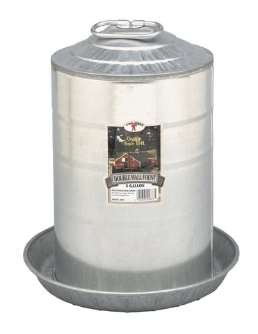 Double Wall Fount - 3 Gallon