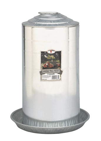 Double Wall Fount - 8 Gallon