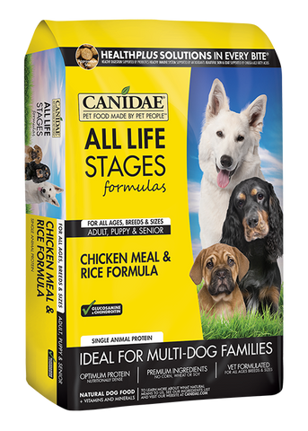 CANIDAE® ALL LIFE STAGES CHICKEN MEAL & RICE FORMULA 30lb