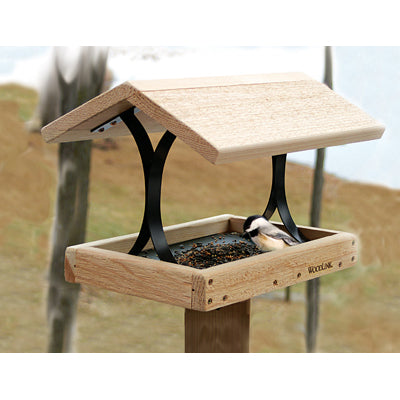 Cedar Fly-Thru Feeder