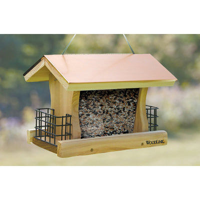 Coppertop Ranch Feeder with Suet Cages