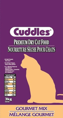 Cuddles Cat Food 8kg