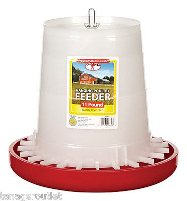 Hanging Poultry Feeder - 11 Pound