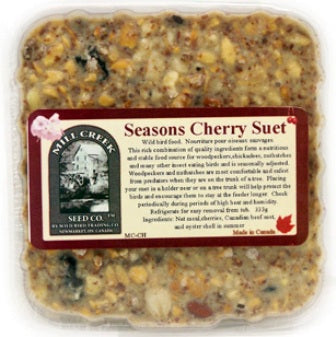 Seasons Cherry Suet Cake (no melt)