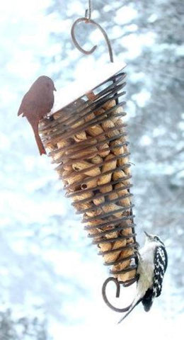 Martin House Spiral Peanut in Shell Feeder